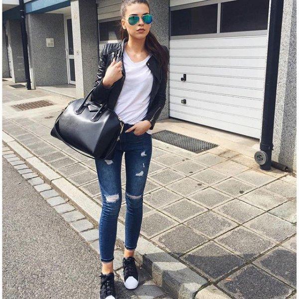 clothing, black, footwear, denim, shoe,