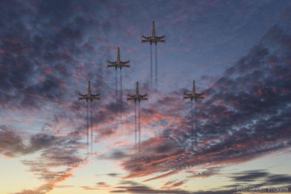 sky, cloud, atmosphere, horizon, dawn,