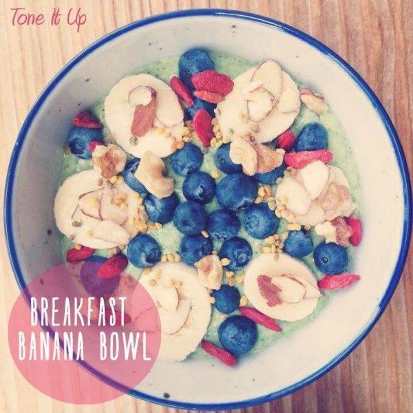 Breakfast Banana Bowl