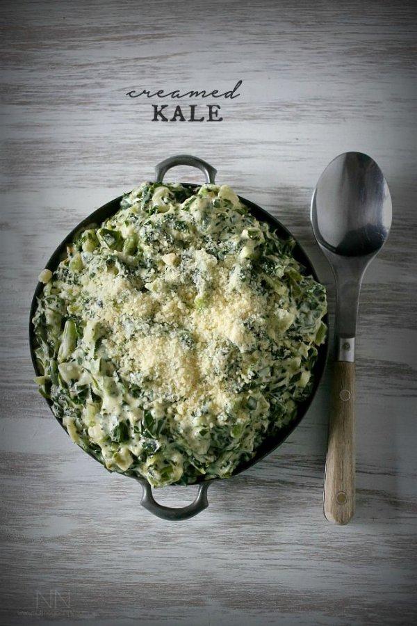 Simple Creamed Kale