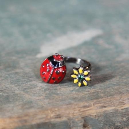 My Pet Ladybug Ring