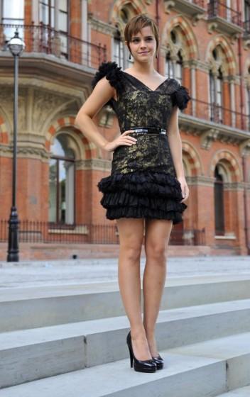 Emma Watson at the London Photocall