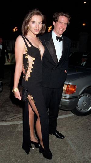 Elizabeth Hurley in Versace