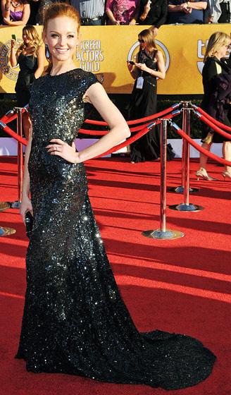 The SAG Awards Red Carpet - Jayma Mays
