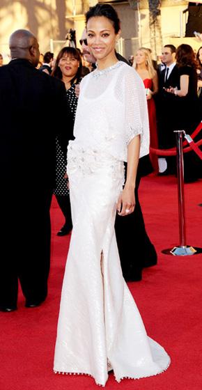 The SAG Awards Red Carpet - Zoe Saldana