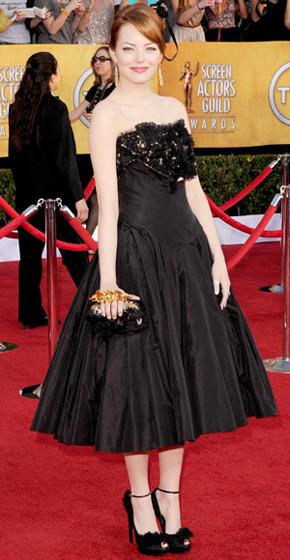 The SAG Awards Red Carpet - Emma Stone