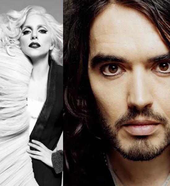 Lady Gaga & Russell Brand