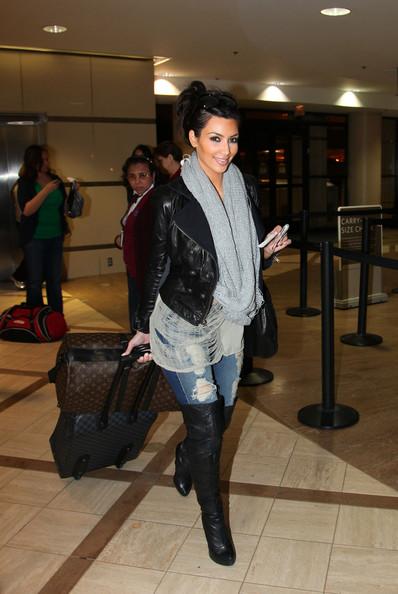 Kim Kardashian's Scarf