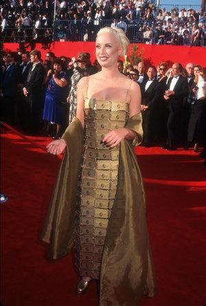 Lizzy Gardiner's Credit Card Dress