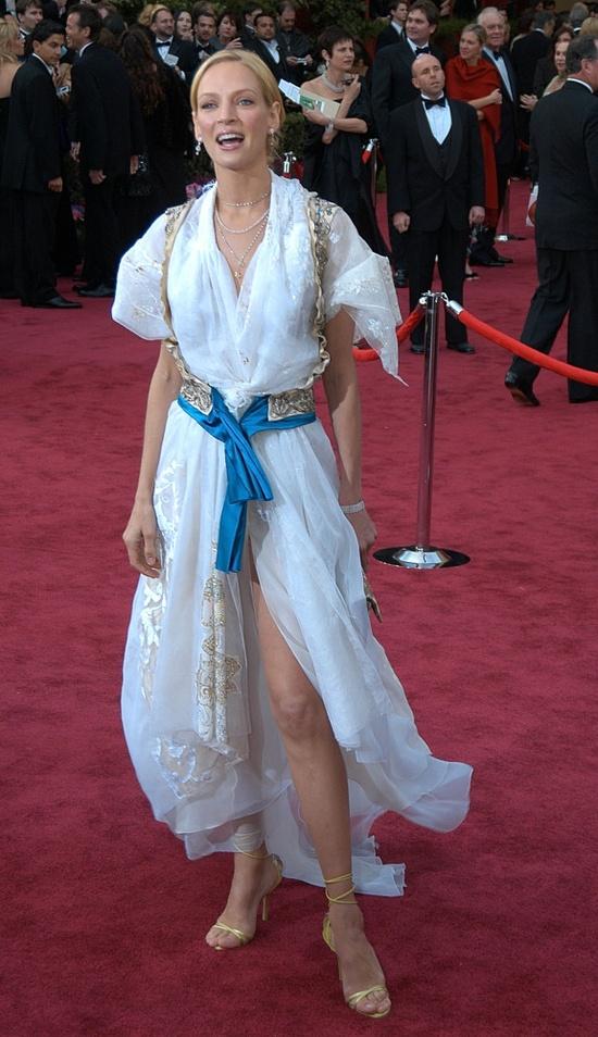 Uma Thurman's Pirate Dress