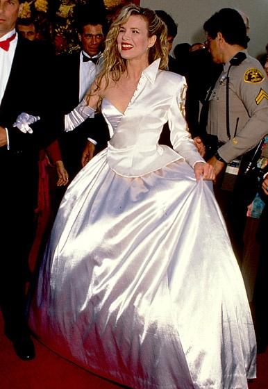 Kim Basinger's Half Jacket Dress