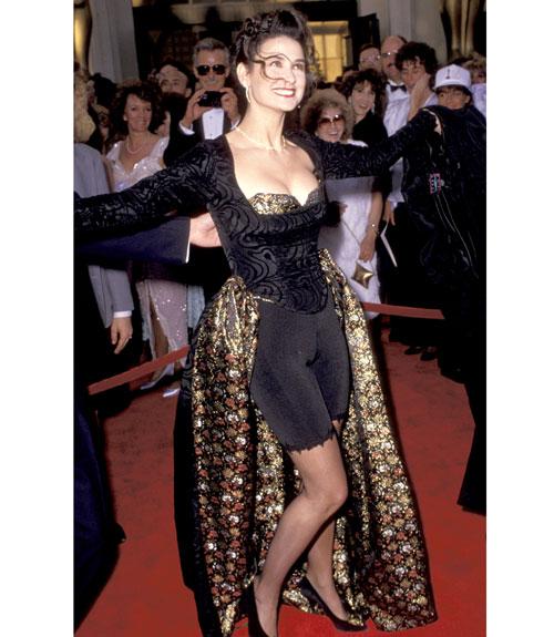 Demi Moore's Bike Short Dress