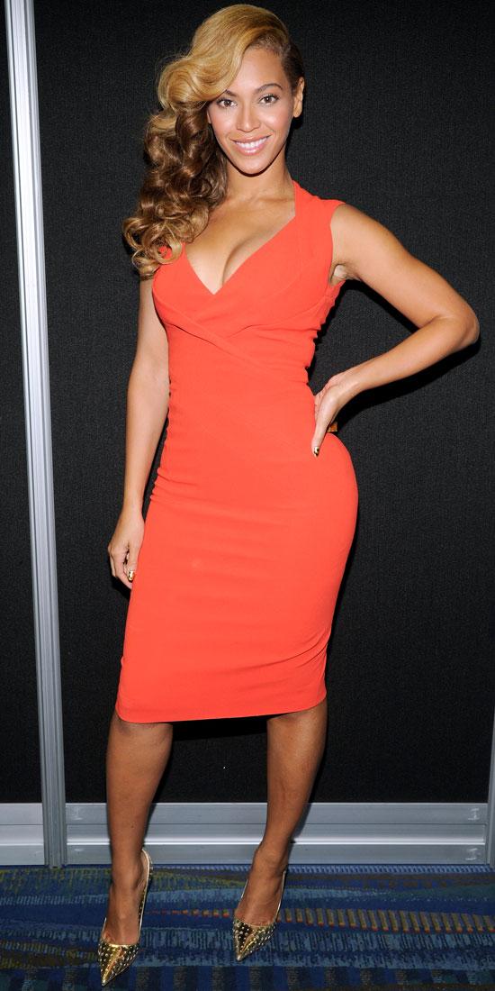 10 Celebrities In Little Orange Dresses Who Wore It Best