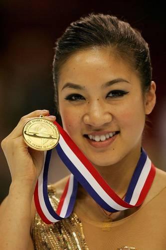 Michelle Kwan....