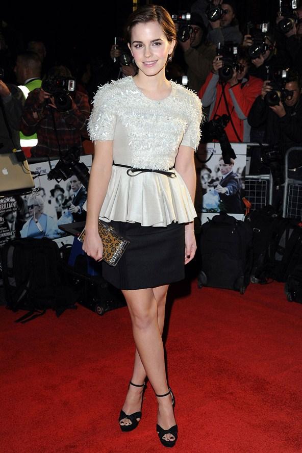 Emma Watson 10 Celebrities Wearing Peplum Who Wore It