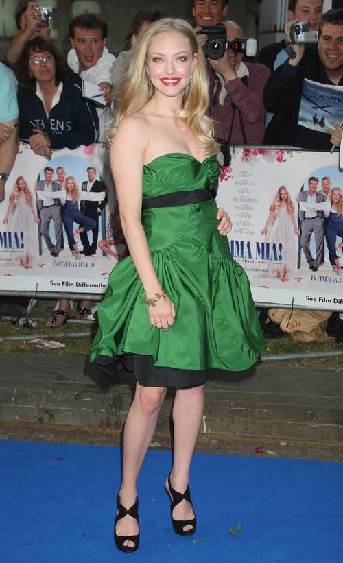 Cutie Amanda Seyfried Ladylike Chic Short Dresses
