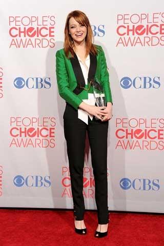 Stylish Emma Stone