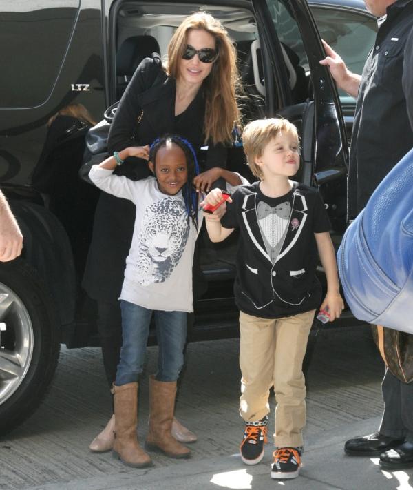 Zahara Jolie-Pitt, Dau...