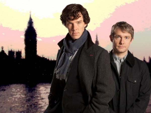 Sherlock and John from BBC's Sherlock