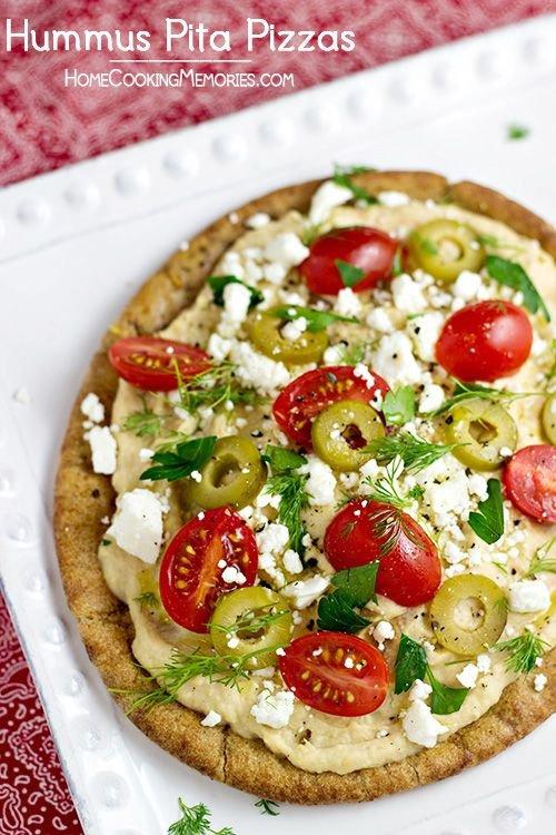 Hummus Pitza