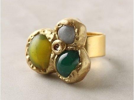 Rolling Gems Ring