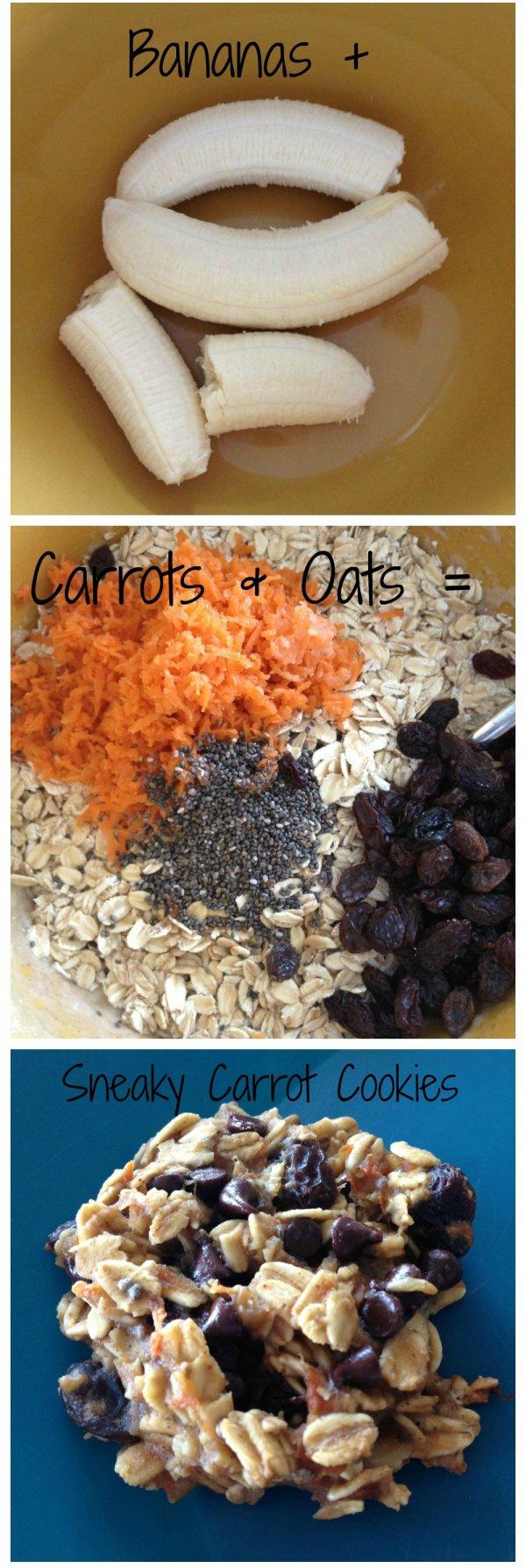 Sneaky Carrot Cookies
