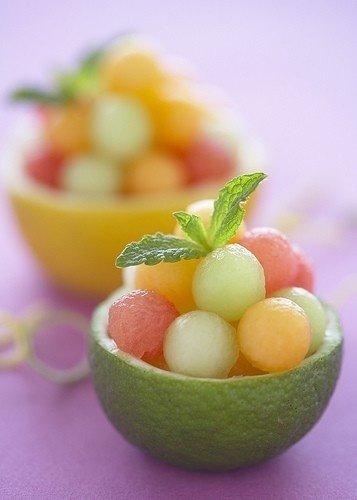 Tiny Fruit Bowls