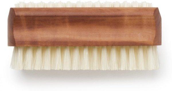 BГјrstenhaus Pearwood Nail Brush W/ Boar Bristles, Set of 2