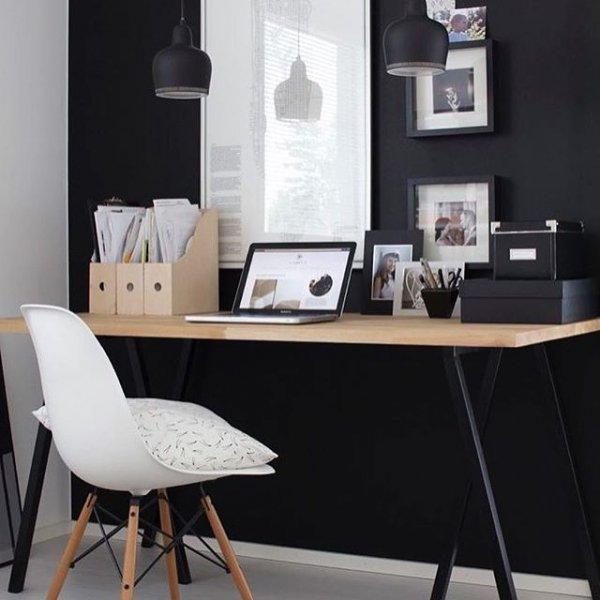 furniture, desk, room, table, dining room,