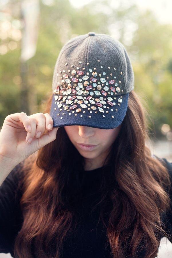 Gorgeous Crystal Baseball Cap