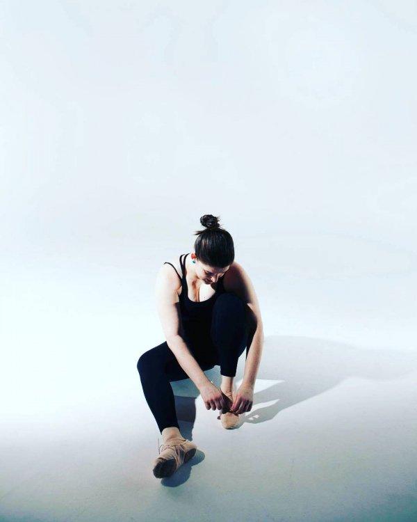 Jess's Dance-Ready Updo