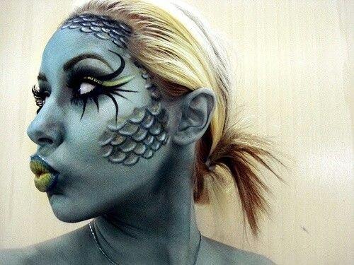 Mermaid Special Effects Makeup