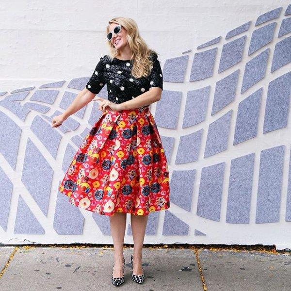clothing, dress, pattern, fashion, spring,