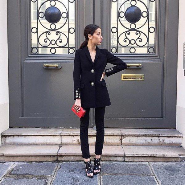 black, clothing, outerwear, little black dress, dress,