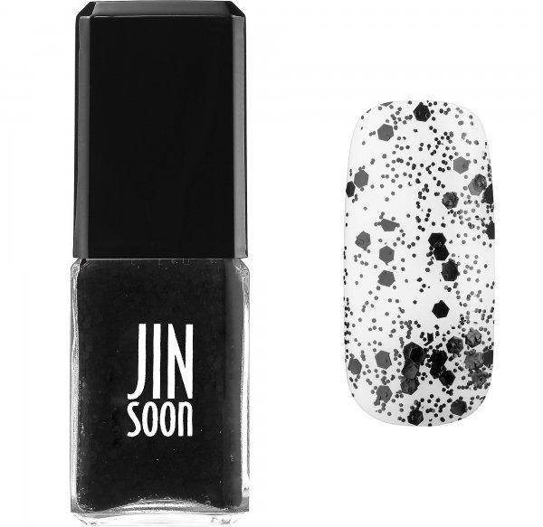 JINsoon Nail Lacquer in Polka Black