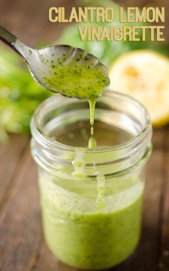 Cilantro Lemon Vinaigrette