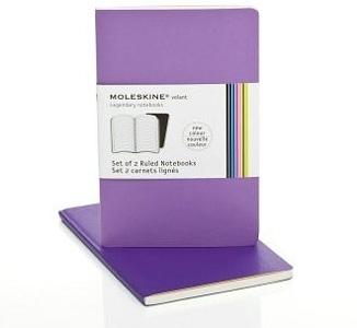 Moleskine Volant Notebook Ruled Set of 2