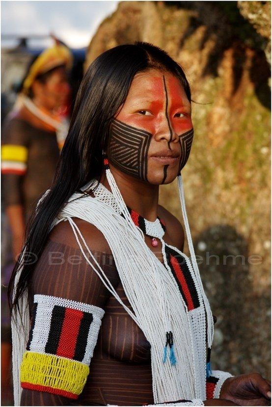 Kayapo Woman, Brazil