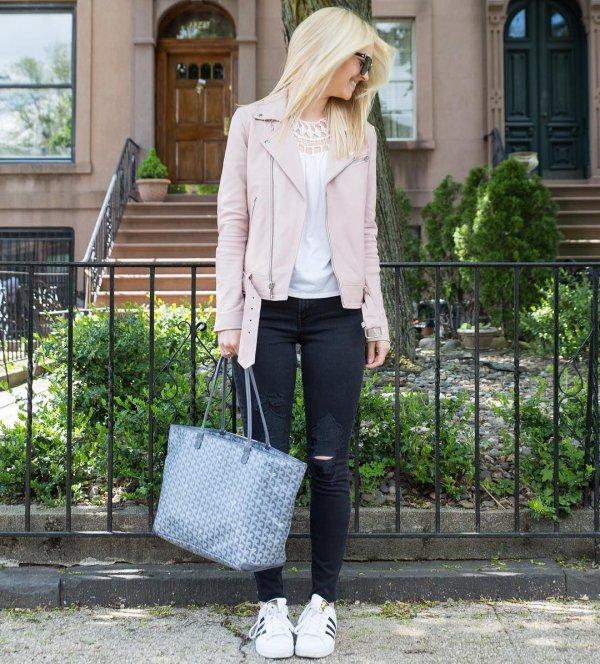 white, clothing, jeans, snapshot, jacket,