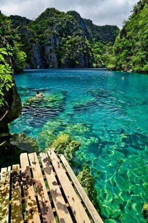 Kayangan Lake, Coron Islands, Philippines