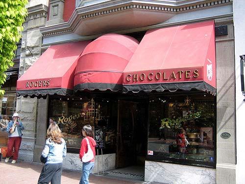 Rogers' Chocolates in Victoria, British Columbia, Canada