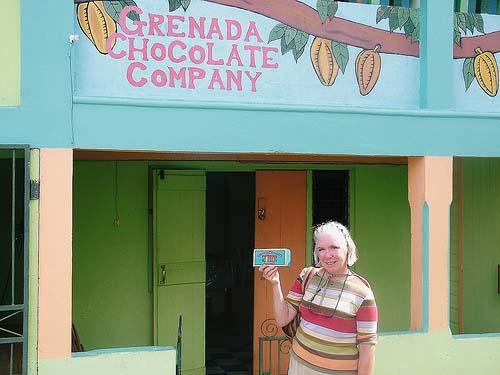 the Grenada Chocolate Company on Grenada