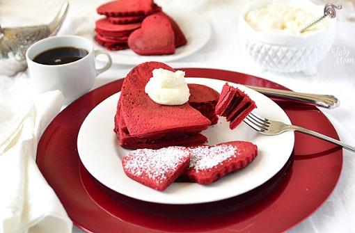 Red Velvet Pancakes...
