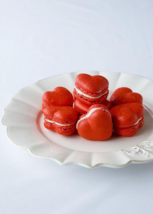 Red Velvet Macarons...