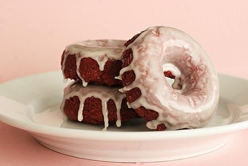 Red Velvet Donuts...