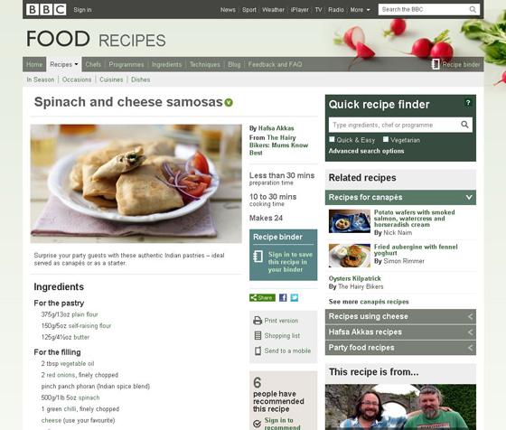 Spinach & Cheese Samosas