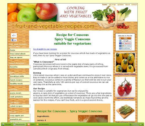 Spicy Veggie Couscous