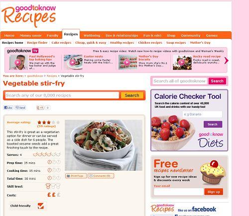 Mushroom & Vegetable Stir Fry