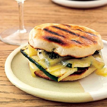 Zucchini Grilled Cheese Recipe...