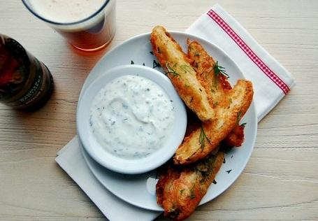 Beer Battered Pickles Recipe...